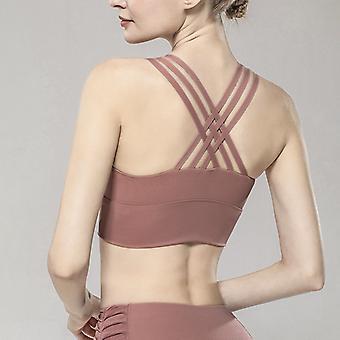 U-shaped breathable yoga bra Q42