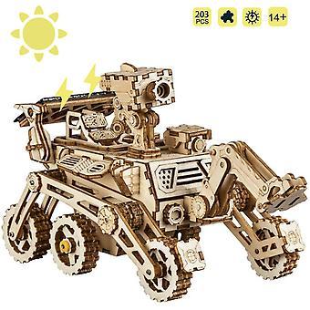 ROKR Wooden Model kits For Adult - Build Your Own Robot Model