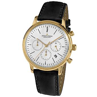 Mens Se Jacques Lemans N-209ZE, Kvarts, 39mm, 5ATM