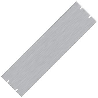 "Hammond PBPA19005UNF 3U 19"" Rack Aluminium Blank Panel Unfinished 483 x 3 x 133"