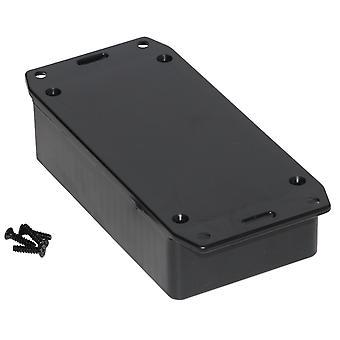 Hammond 1591BSFLBK Multipurpose GPABS Enclosure Flanged Lid 112 x 62 x 31 Black