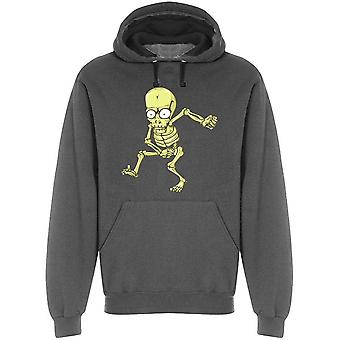 Cartoon Funny Skeleton Hoodie Men's -Image by Shutterstock