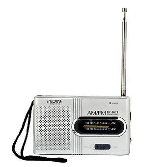 Bezdrôtové mini rádio, Am, Fm prijímač, teleskopická anténa, mini prenosné vrecko