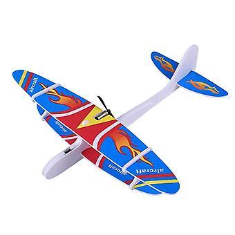 Lapset Koottu lentokone Fix Wing Usb Kestävä Epp Vaahto Ulkona Launch Lentokone