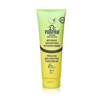 Shampoo and shower gel 250 ml of gel