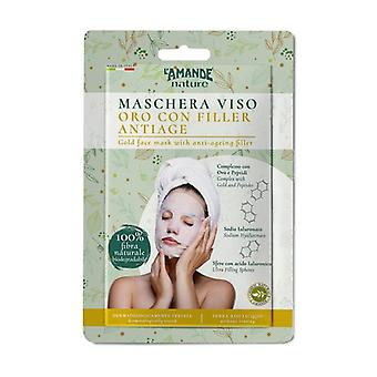 Gold face mask with anti-aging filler 1 unit