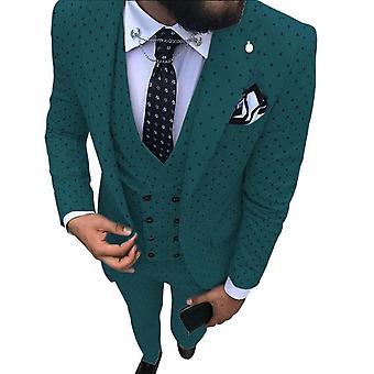 Men Wave Point Suit