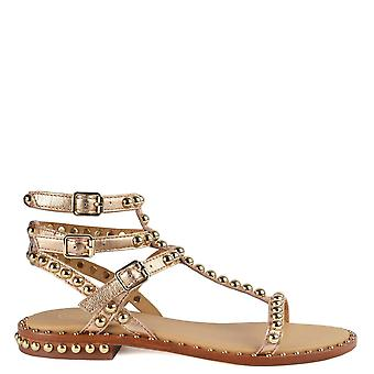 Ash PLAY Sandals Rose Gold Leather