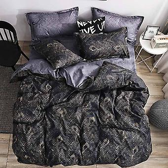Marble Super King Size Bed Sheet ( Set 2)