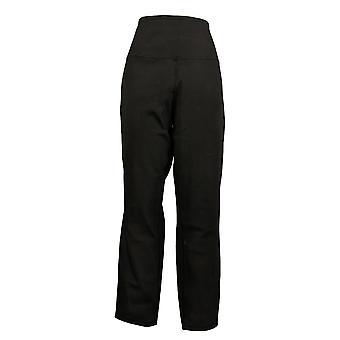 Vrouwen Met Controle Dames Jeans Stretch Omkeerbare Enkel Zwart A366039