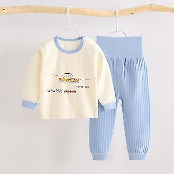 Sleepwear pre novorodencov Detské oblečenie Sleepwear Cartoon Print, Pyžamá pre dieťa