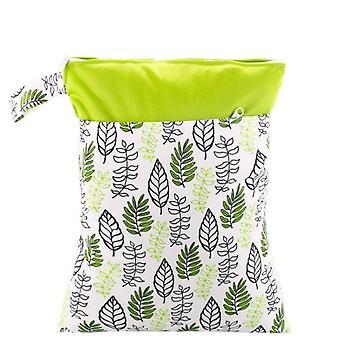 Wiederverwendbare wasserdichte Mode Drucke nass trockene Windel Tasche, Doppelte Tasche Tuch