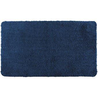 badvorleger Belize 60 x 90 cm Polyester marineblau