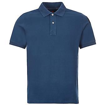 Parajumpers Basic Polo Blue Polo Shirt