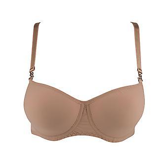 Louisa Bracq 47412 Women's Jodie Nude Beige Padded Bra