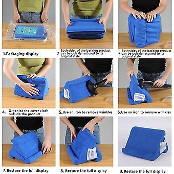 Wokex Tablet Kissenständer mit Netztasche Tablet-Ständer, Kissenhalter, Mobile Halterung
