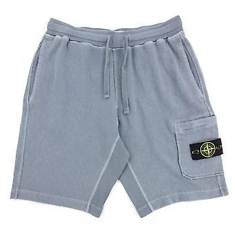 Stone Island 63560 T.co Old Fleece Shorts Dark Grey V0146