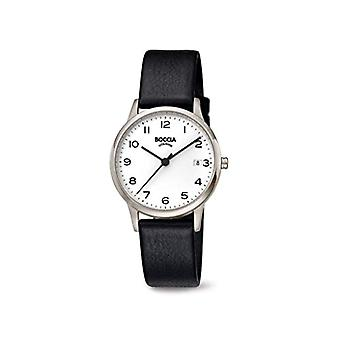 Boccia Analogueico Quartz Watch Woman with Real Leather Strap 3310-01