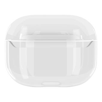 Protective skin case for airpods pro transparent cartoon avocado pc hard case