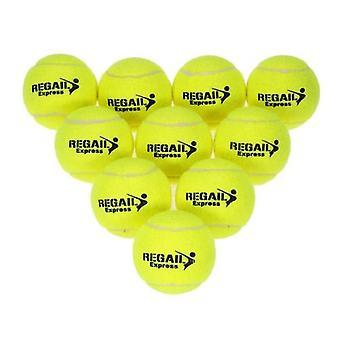 10kpl / laukku Tennis Training Ball Practice High Resilience Training Kestävät Tennispallon harjoituspallot aloittelijoille Kilpailu