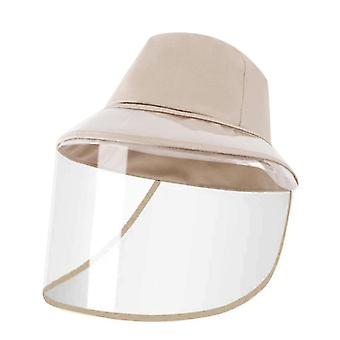 1ks svetlosivá ochranná čiapka proti sliepkam odnímateľný štít x1722