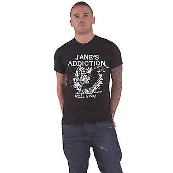 Janes Addiction T Shirt Ritual De Lo Habitual new Official Mens Black