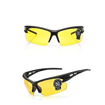 Sun protection yellow high-quality cycling s-proof glasses outdoor sports cycling equipment dt5223
