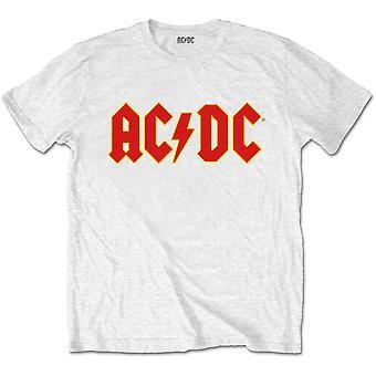 AC/DC - Logo Kids 11 - 12 års T-Shirt - Vit
