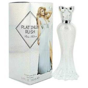 Paris Hilton Platinum Rush Fra Paris Hilton Eau De Parfum Spray 3.4 Oz (kvinner)