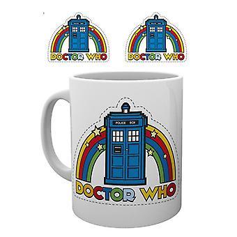 Doctor Who Rainbow mugg