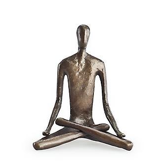 Yoga Lotus Bonze Sculpture