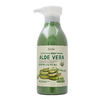 Esfolio Aloe Vera Soothing Body Wash 16.9oz / 500ml