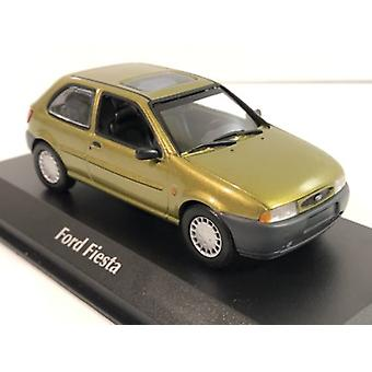 Maxichamps 940085060 Ford Fiesta 1995 Gold 1:43 Scale
