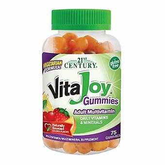 21. århundre Vitajoy Multivitamin, 75 Gummies