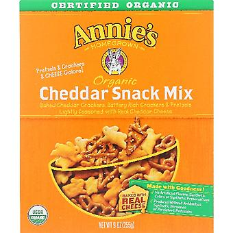 Annie's Homegrown Snack Mix Bunny Chdr Org, Case of 12 X 9 Oz