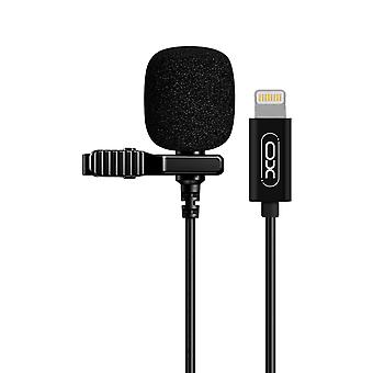 Lightning Microphone with Omnidirectional Recording Noise Reduction XO Black
