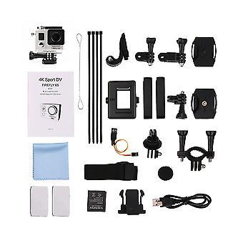 Mini 4k 170 Grad Wifi Dv Action Sport Kamera Video Camcorder Silber