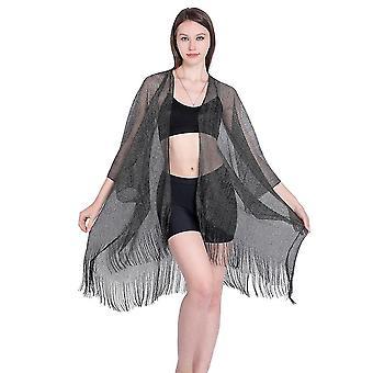 Šifon letní bikiny cover up suncreen Split beachwear cardigan