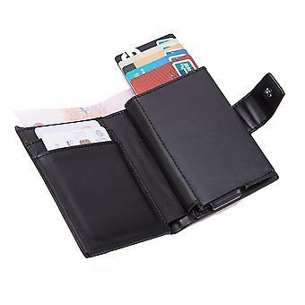 Aluminum alloy dollar clip anti-theft swipe card holder anti-magnetic RFID personalized