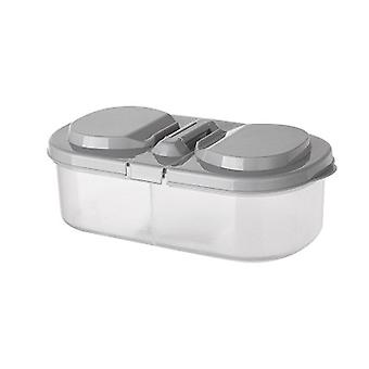 10Pcs Kitchen  Grains Beans Storage Contain Sealed Home Organizer Food Container Refrigerator
