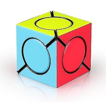Six Spot Speed Magic Cube, Professional Tilting Rubik's Cube Puzzle toy