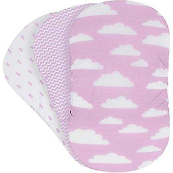 Soft Baby Bassinet Set Cradle Fitted Sheets/mattress