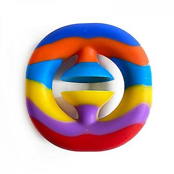 Snapperz Anxiety & Stress Relief Autism Aid Toy -rainbow