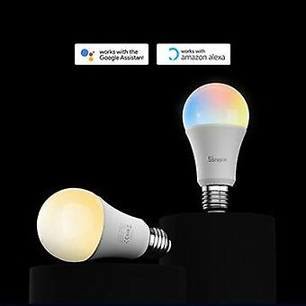 Sonoff wi-fi smart led bulb e27 led rgb lamp work with alexa/google home ac220-240v rgb magic bulb