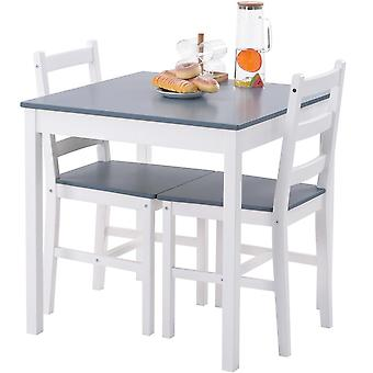 Solid Pine Dining Table And Chair Set