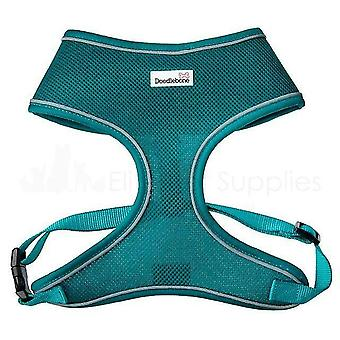 Pet collars harnesses mesh harness teal extra small 28.5-39Cm