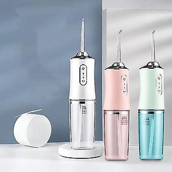 Wasserdichte Mundbewässerung elektrische Dental Scaler USB Aufladung Wasser Zahnseide Pick Jet Flosser Zähne