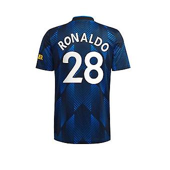 Mens #28 C. Ronaldo Football Jersey New Season Mnchester 2021-2022 United Soccer Jersey T-shirts Size S-xxl