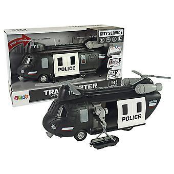 Speelgoed helikopter - politie - 26 cm - met Licht en Geluid