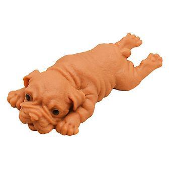 Överdimensionerade liggande hund ångest lättnad leksaker squishy stretchy sensoriska fidget leksak